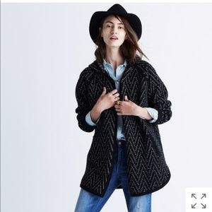 ⬇️was $85 Madewell merino hooded open cardigan XS
